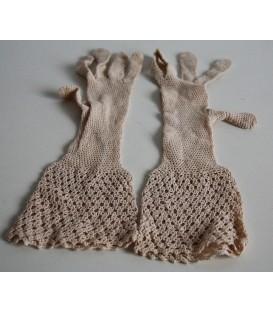 Dětské háčkované rukavice Rakousko-Uhersko